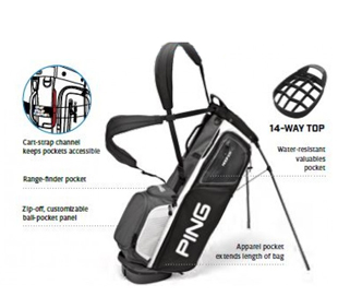 Stand Bags Archives - Welcome To ILLINI GOLF on wilson cart golf bags, lightweight cart golf bags, cobra cart golf bags, quiet cart golf bags, leather cart golf bags, alabama cart golf bags,